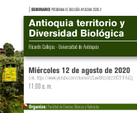 Seminario Antioquia territorio y Diversidad Biológica