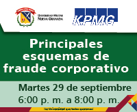 Conferencia Principales Esquemas de Fraude Corporativo