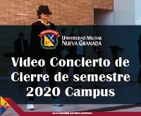 Video Concierto Cierre de Semestre