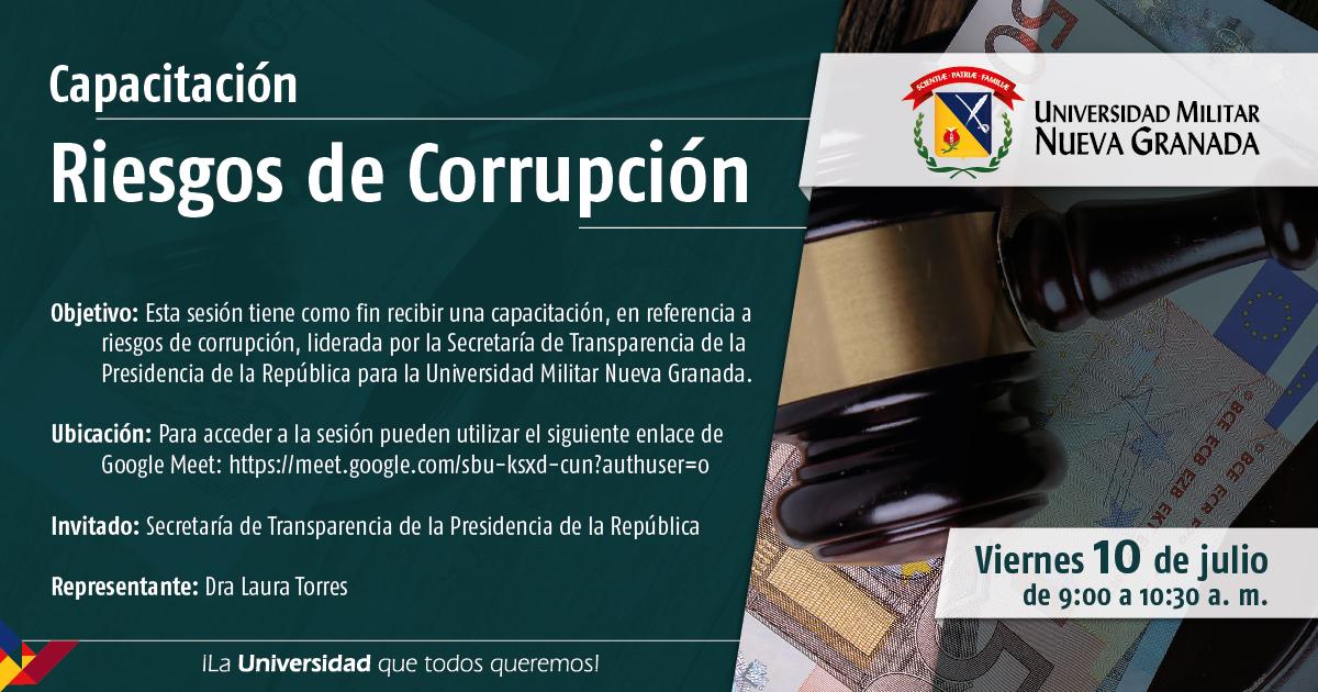 Capacitación Riesgos de Corrupción