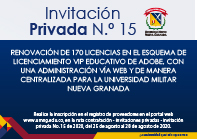 Invitación privada No 15