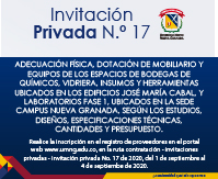 Invitación privada No 17