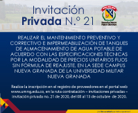 Invitación privada No 21